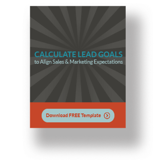 calculate lead goals for sales and marketing