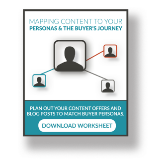 mapping content to your personas