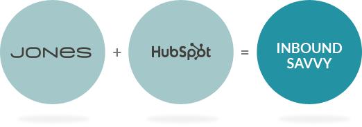 JONES and HubSpot equal Inbound Savvy