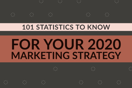 101 Statistics To Know For Your 2020 Marketing Strategy
