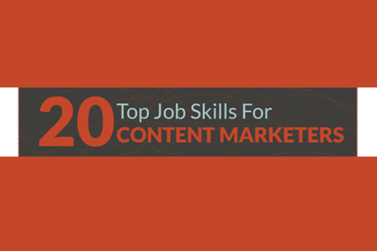 20 Top Job Skills For Content Marketers (infographic)