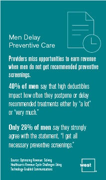 Men Delay Preventive Care