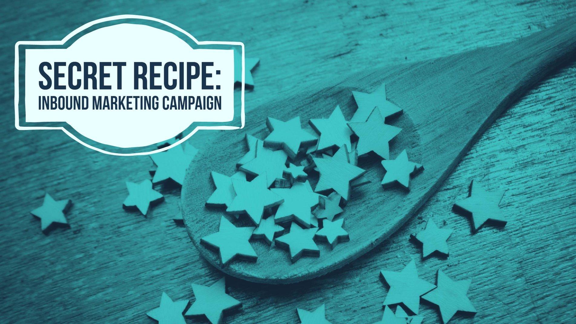 My Secret Recipe for a Winning Inbound Marketing Campaign