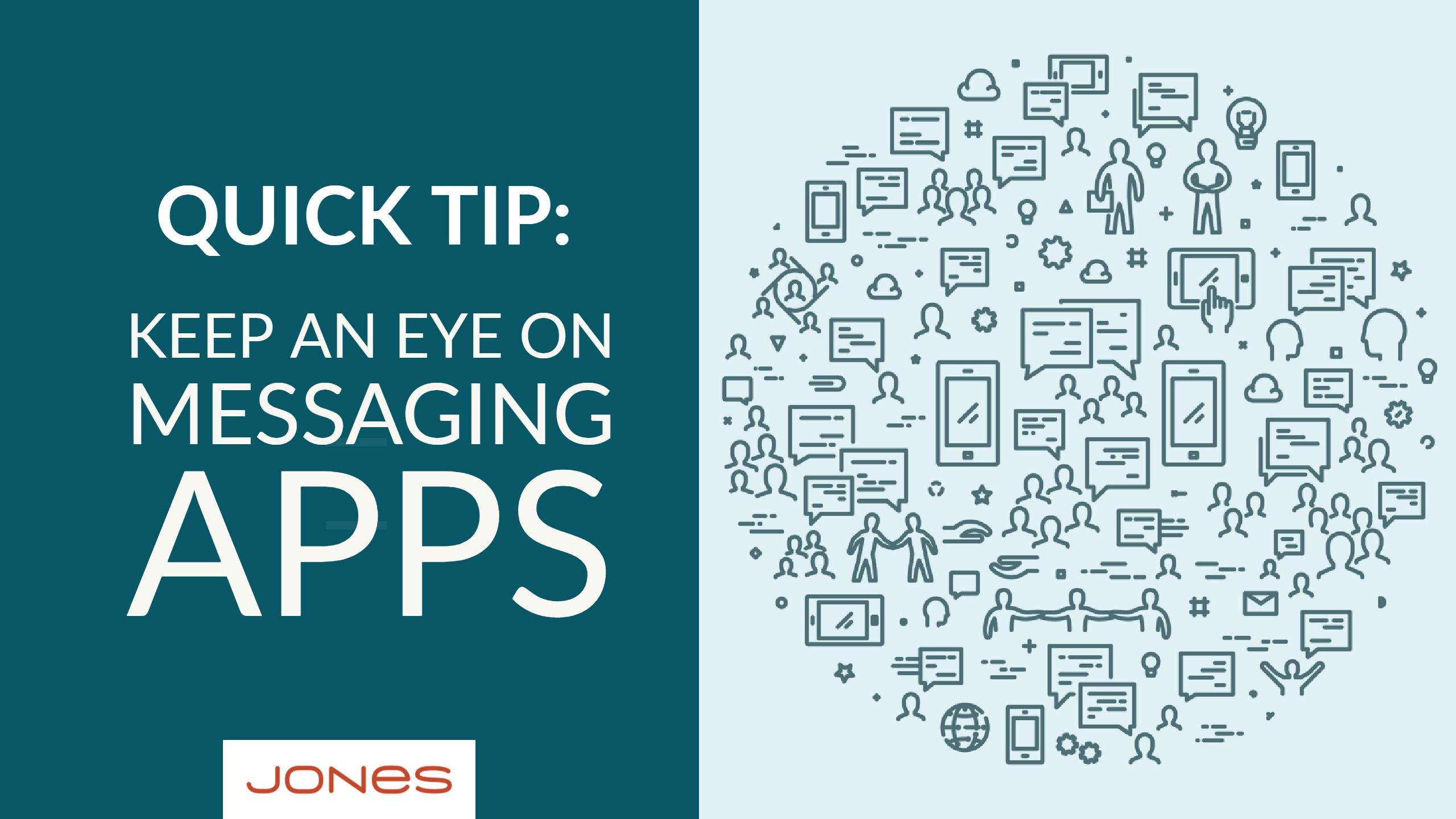 Marketing Tip: Keep an Eye on Messaging Apps