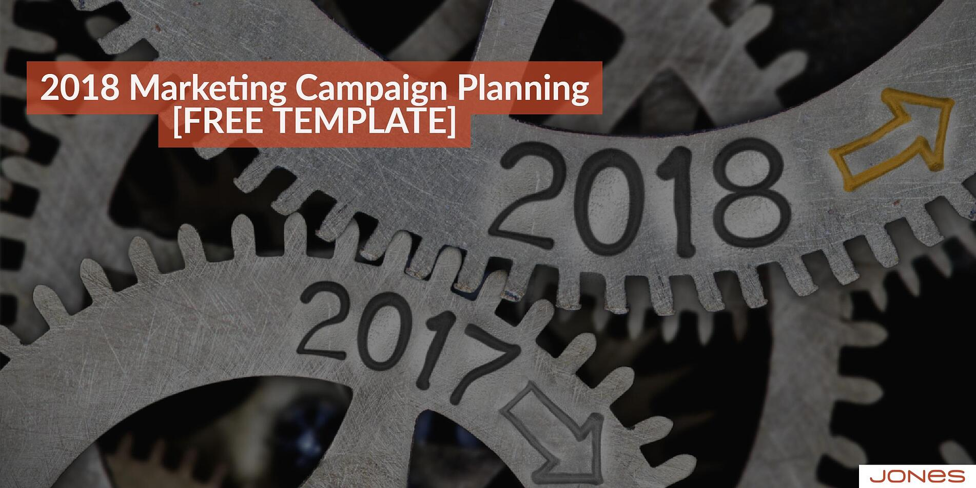 2018 Marketing Plan It's Time for the Year-End Push
