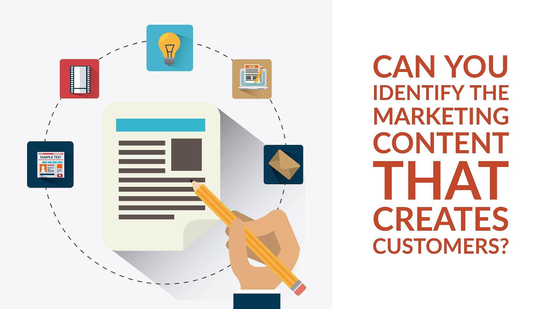 Identify the Marketing Content That Creates Customers