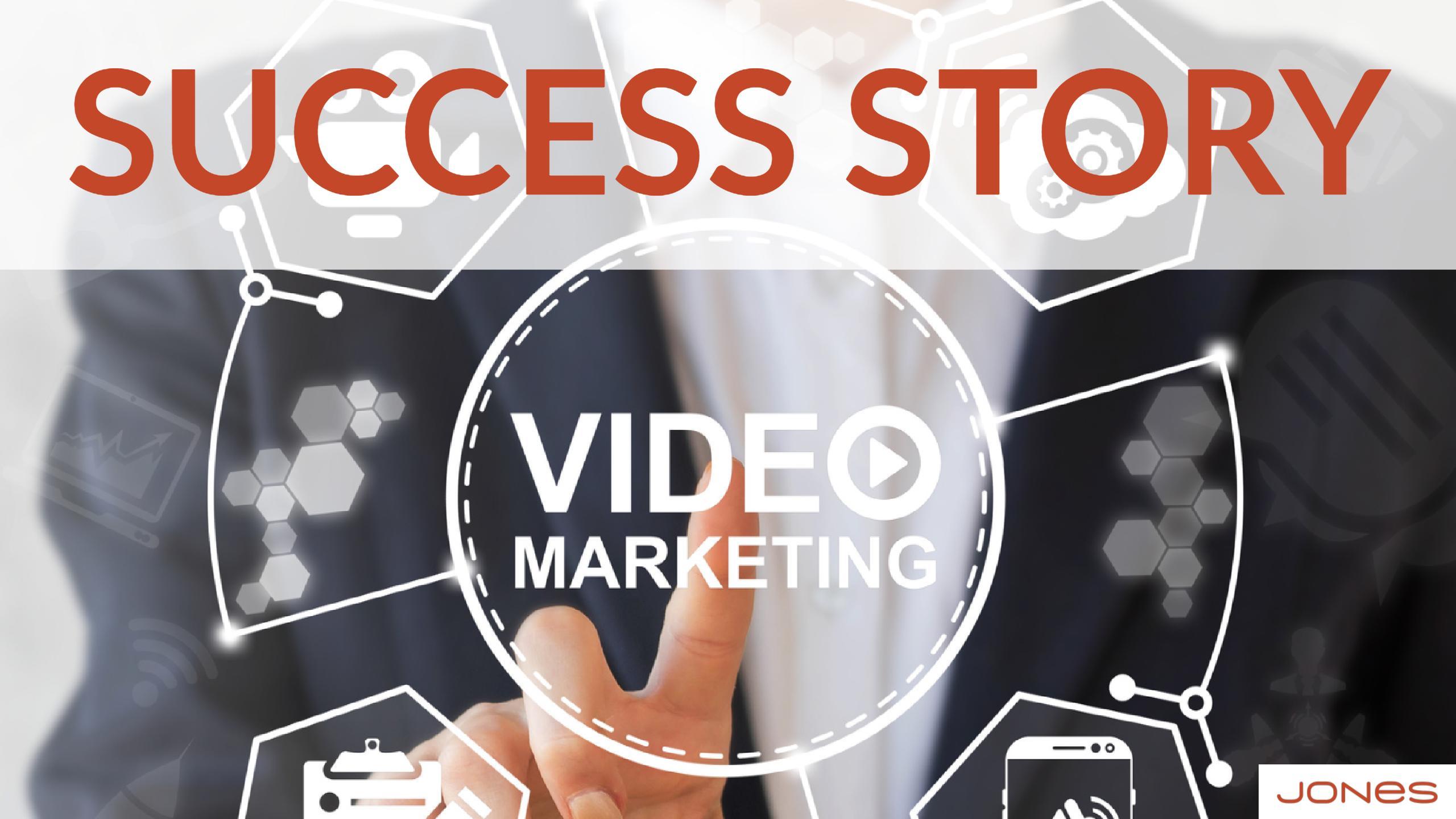 video marketing success story