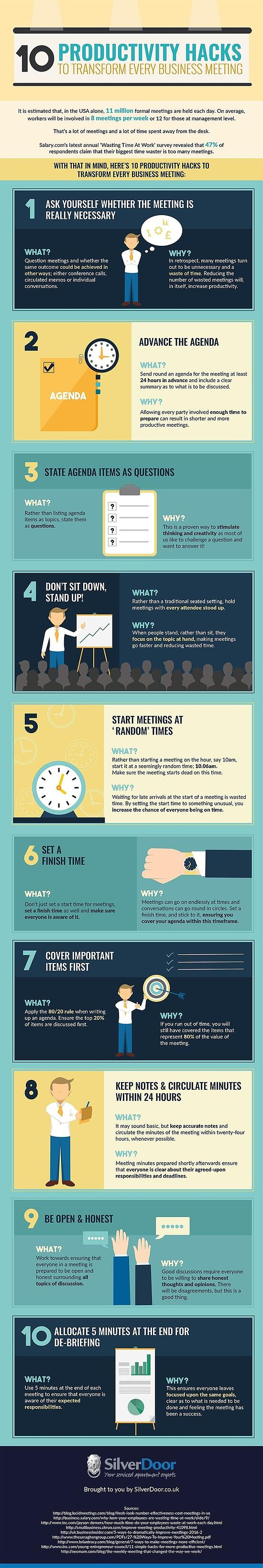 10 Tips To Stop Wasting Time in Meetings