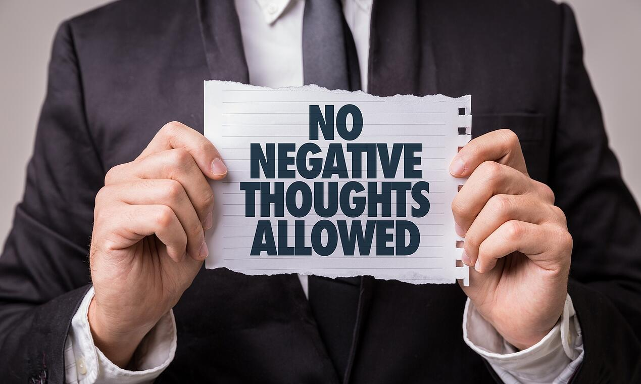 Getting Stuck on Negative Thoughts Seems to Be Human Nature