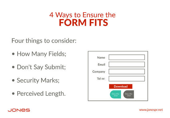 Let's Talk Landing Page Forms