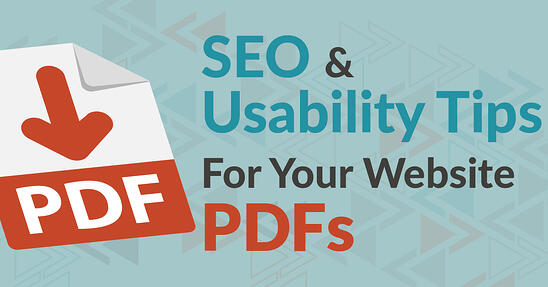 SEO & Usability Tips For Your Website PDFs