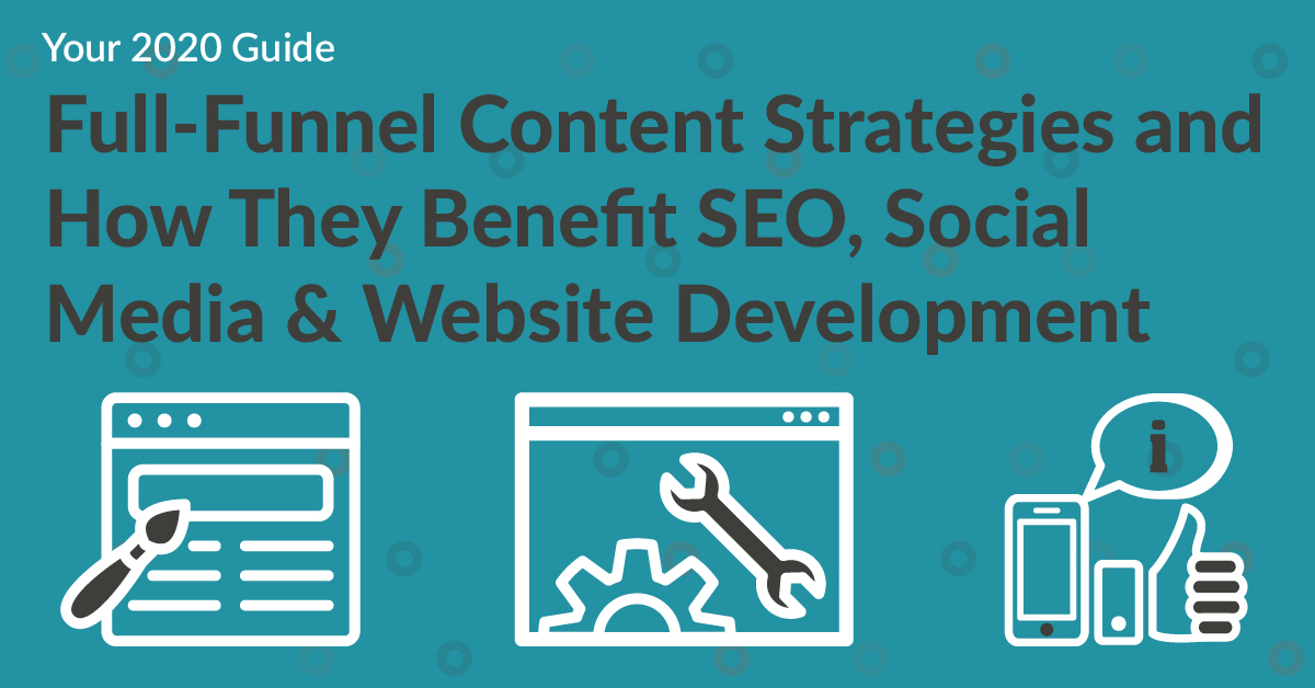 How full funnel content strategies can benefit SEO, Social Media, and Web Development