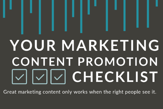 5 Ways To Promote Your Marketing Content