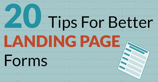 Tips for to improve landing pages