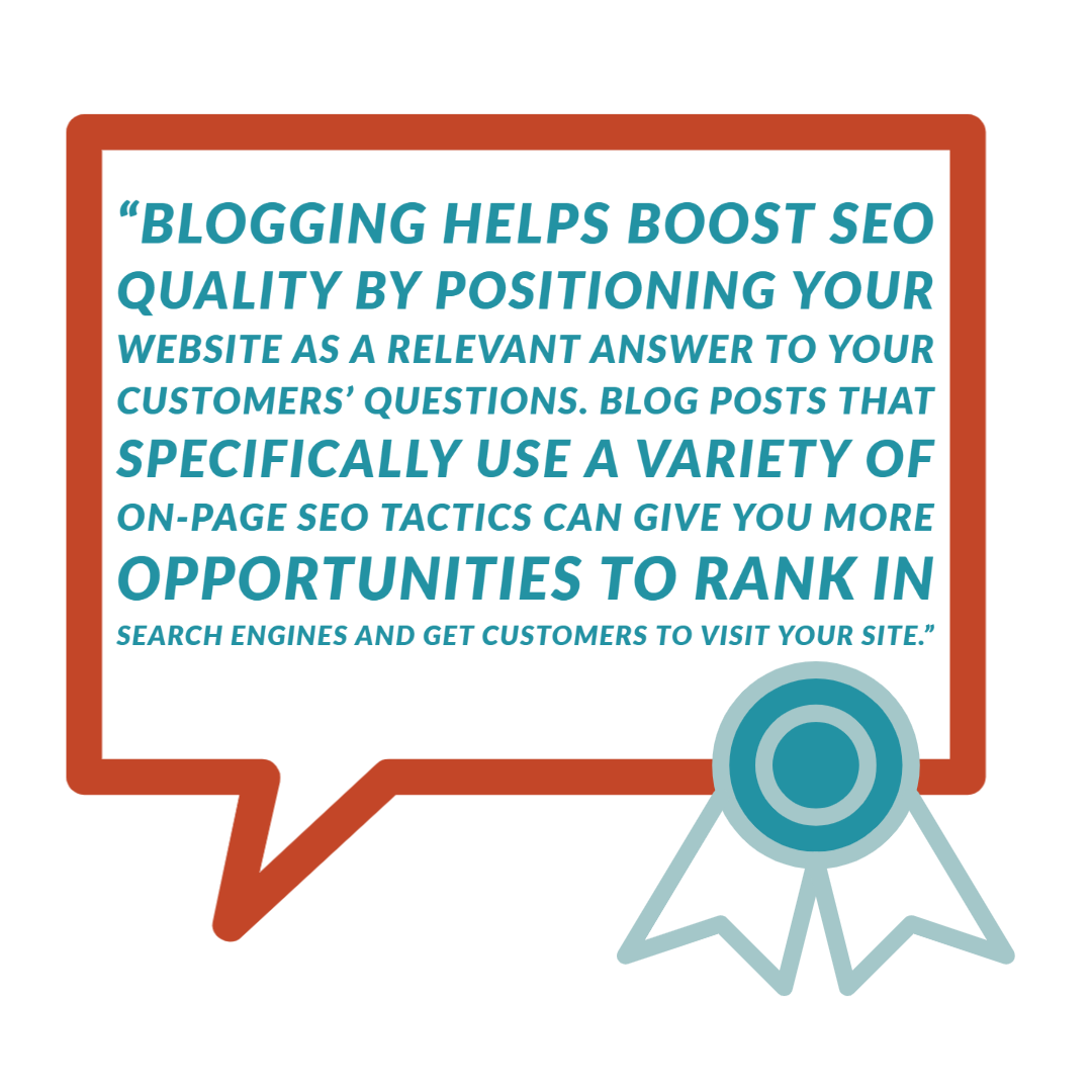 Blogging Helps boost SEO Quality