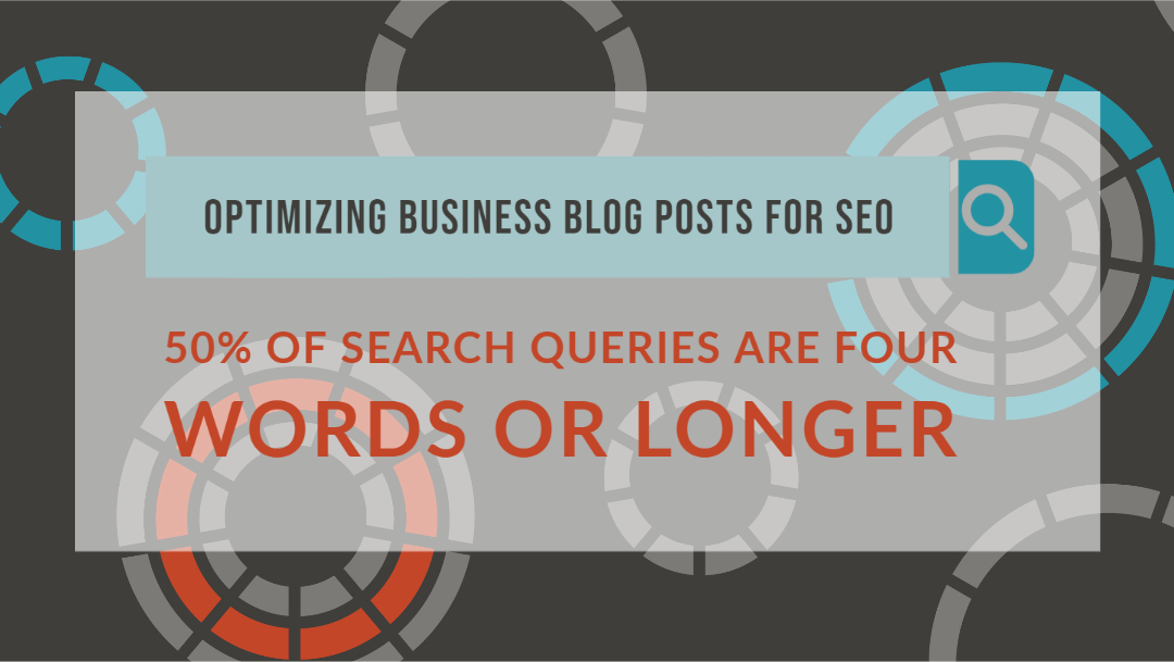 50% of search queries are four words or longer