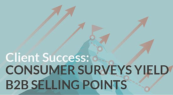 Consumer Surveys Yield B2B Selling Points