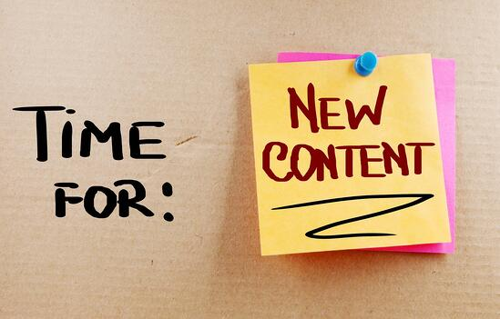 Commit Now to Blogging Content More Often