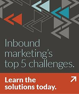 5 Inbound Marketing Challenges problem/solution paper
