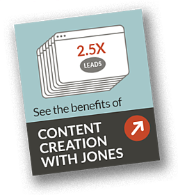Benefits of Content Creation with JONES