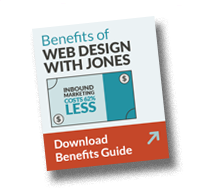 Benefits of Website Design with JONES