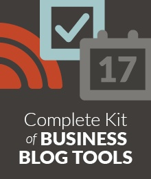 Business Blog Tool Kit