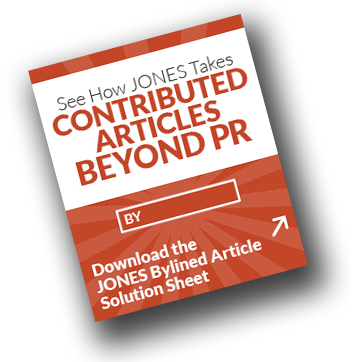 JONES Bylined Article Solutions