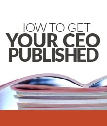 How to get Your CEO Published