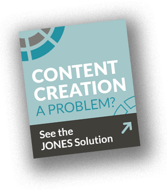 problem-solution: content creation