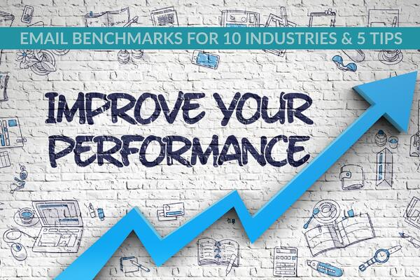 Email Benchmarks For 10 Industries & 5 Tips For Improving Performance