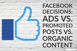Facebook Decisions_ Ads vs. Promoted Posts vs. Organic Content-1