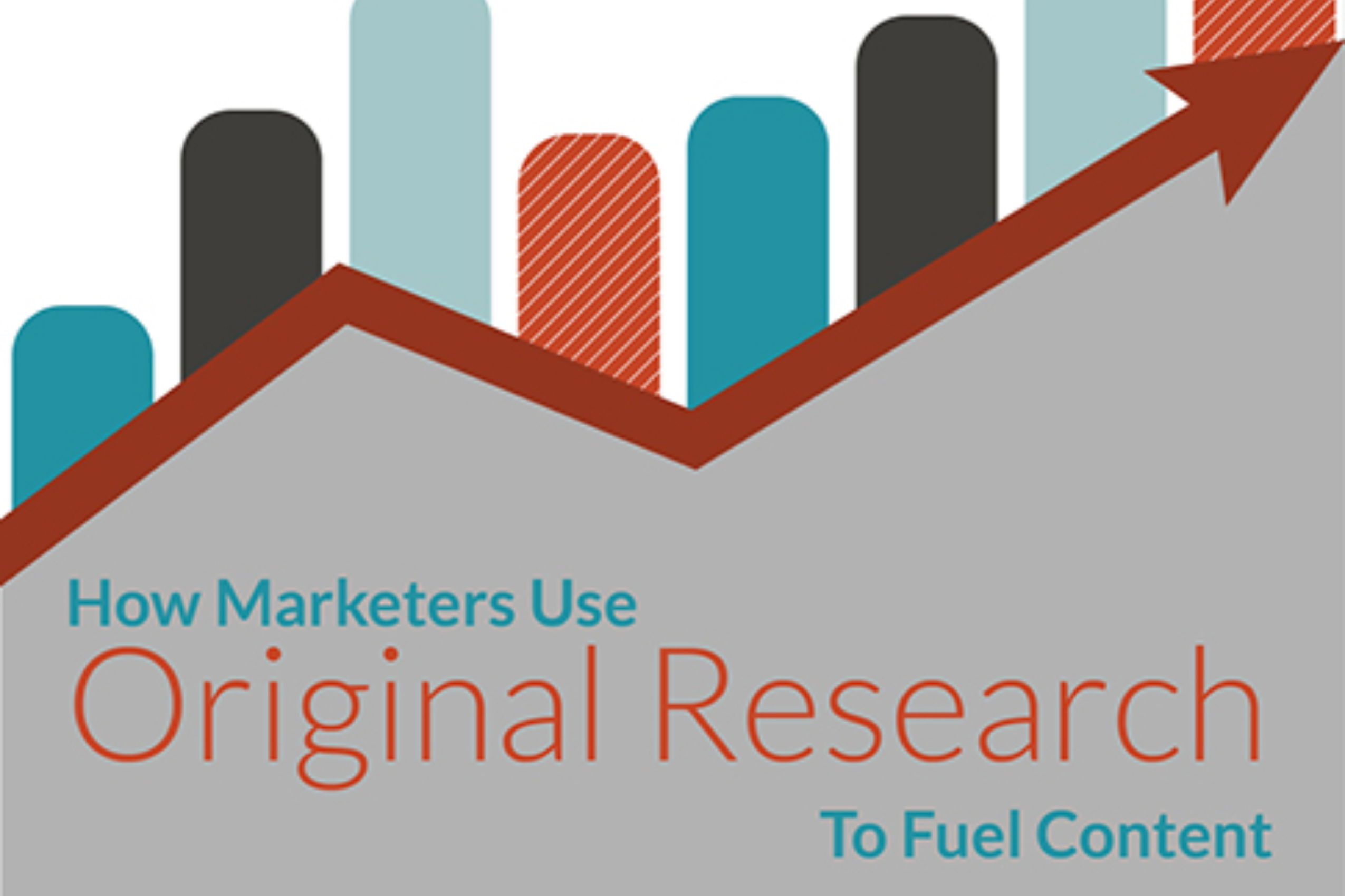 How Marketers Use Original Research To Fuel Content (infographic)
