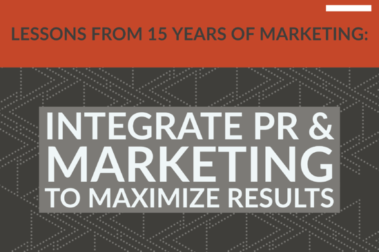 Lessons From 15 Years_ Integrate PR & Marketing To Maximize Results
