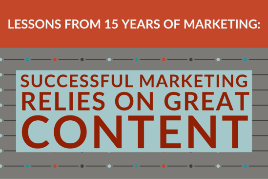 Lessons From 15 Years_ Successful Marketing Relies On Great Content