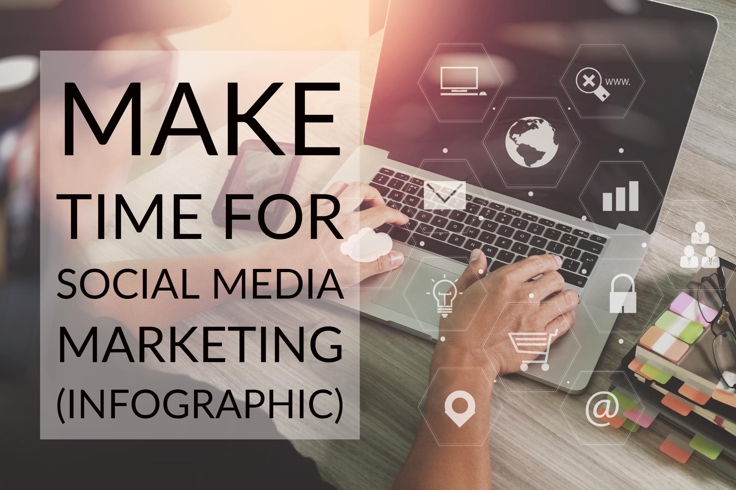 Make Time For Social Media Marketing (infographic)