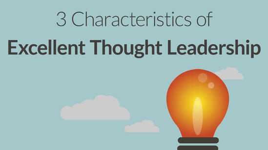 Thought leadership impact