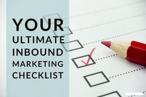 Your Ultimate Inbound Marketing Checklist-1