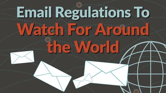 email spam regulations blog header