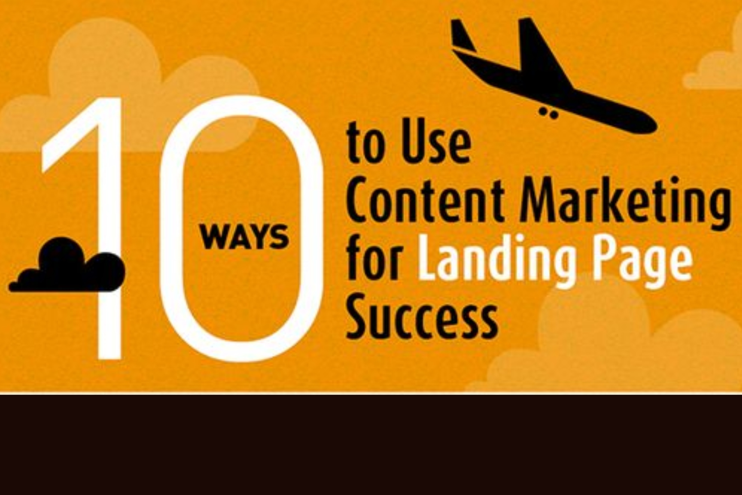 10 Ways To Use Content Marketing For Landing Page Success