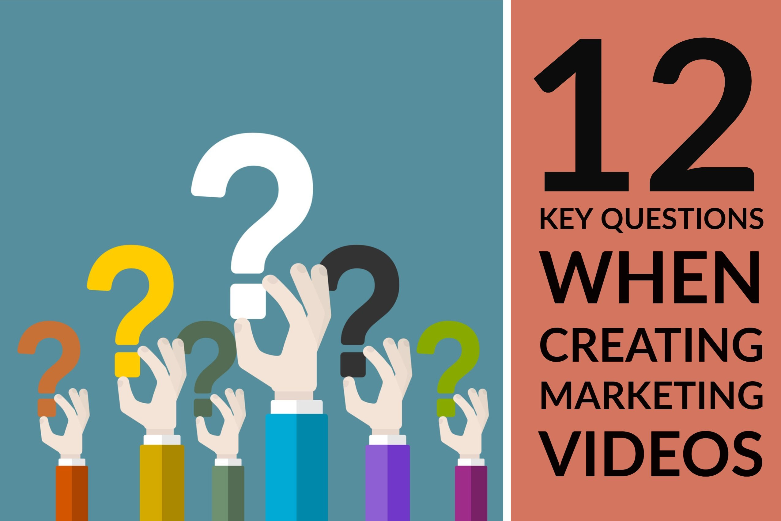 12 Key Questions When Creating Marketing Videos