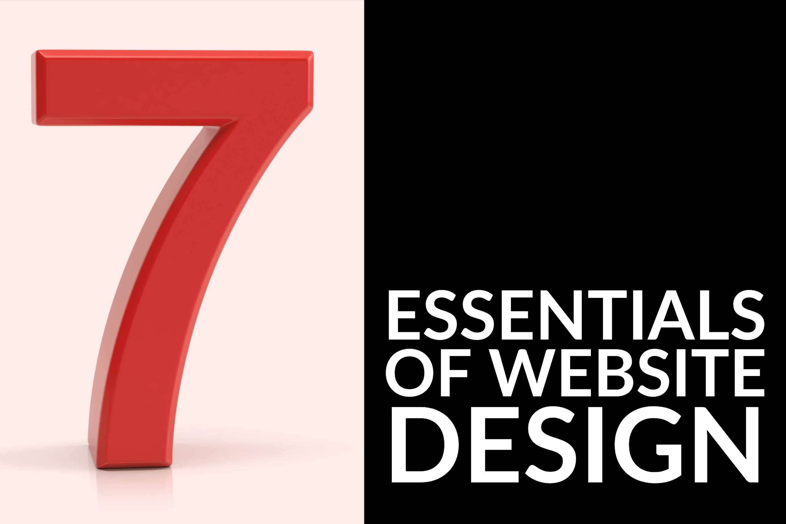 7 Essentials of Website Design