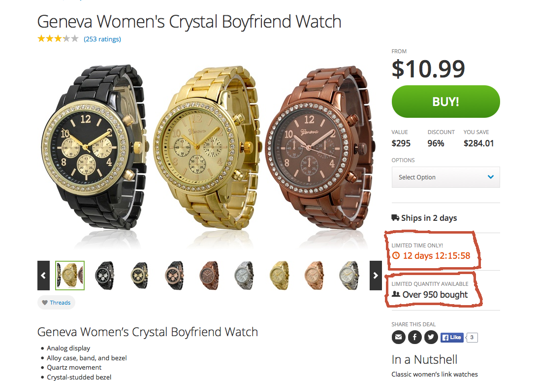 Take A Tip From Retail: Create Urgency to Bring In Leads