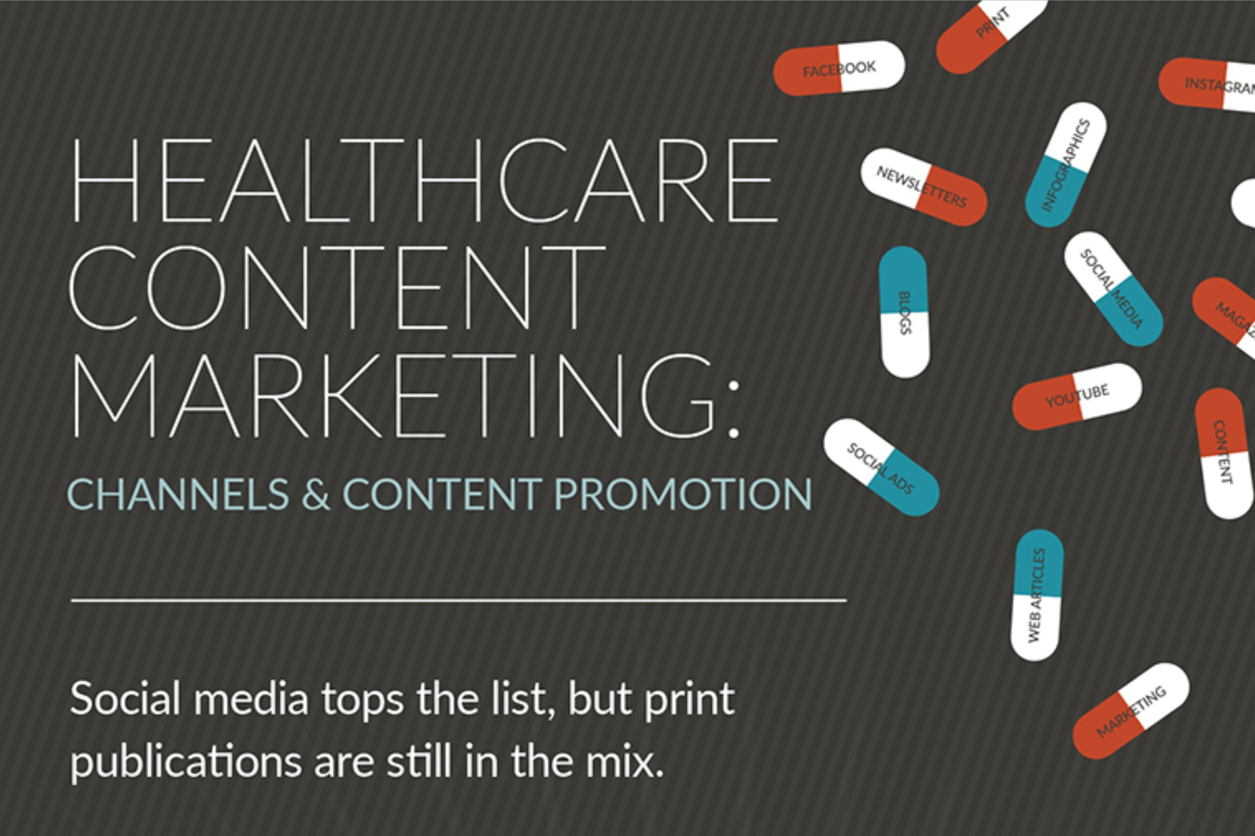 Healthcare Content Marketing_ Channels & Content Promotion (infographic)