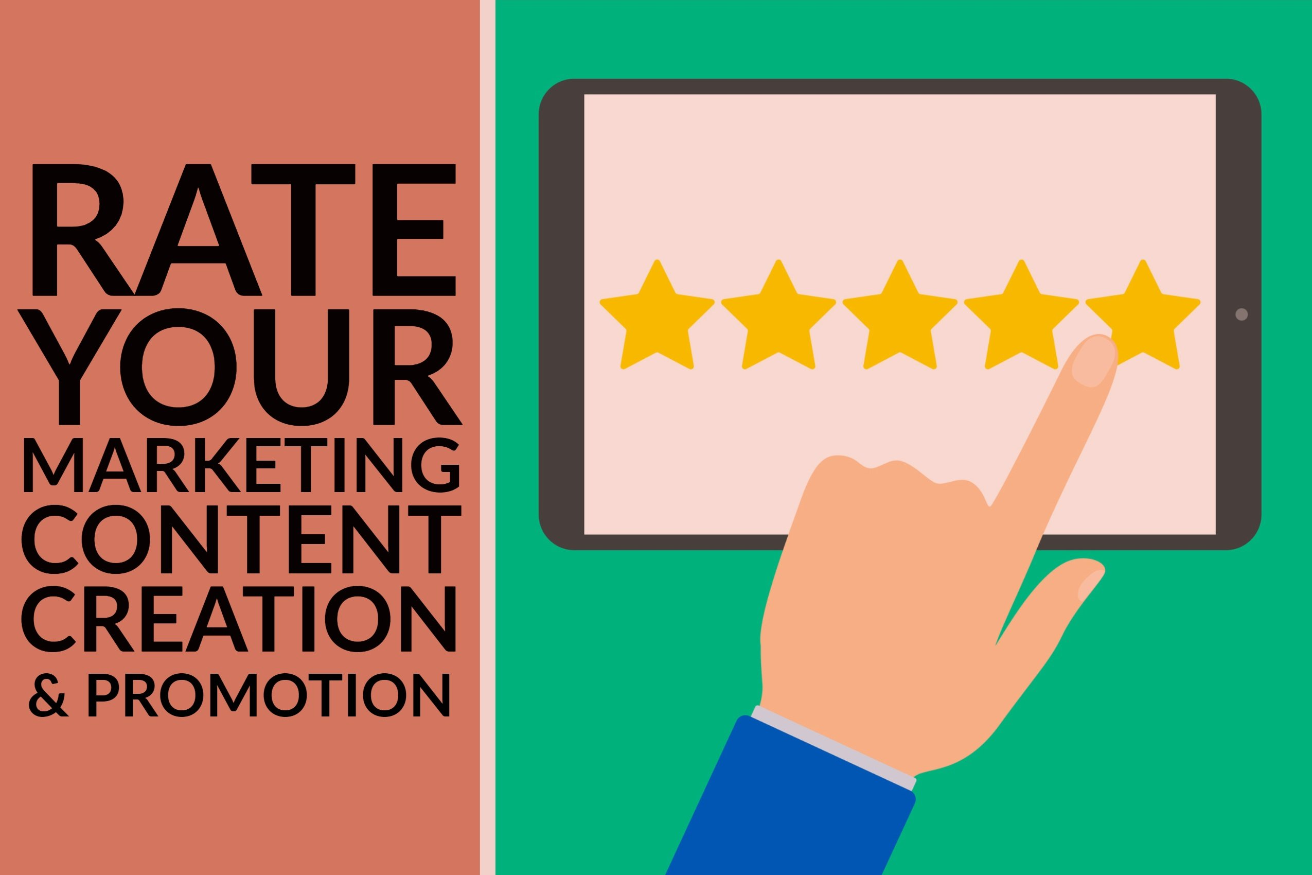 Rate Your Marketing Content Creation & Promotion
