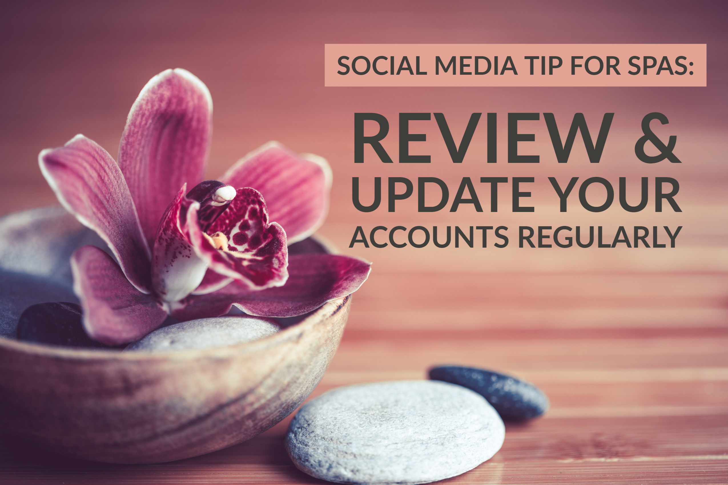 Social Media Tip For Spas_ Review & Update Your Accounts Regularly